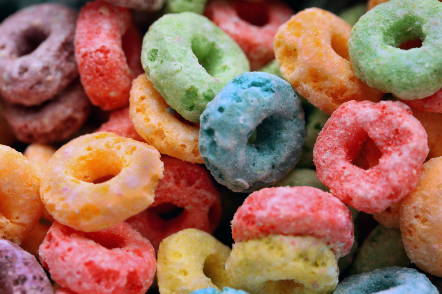 A bunch of Fruit Loops(tm) :  : Christopher Davies Photography