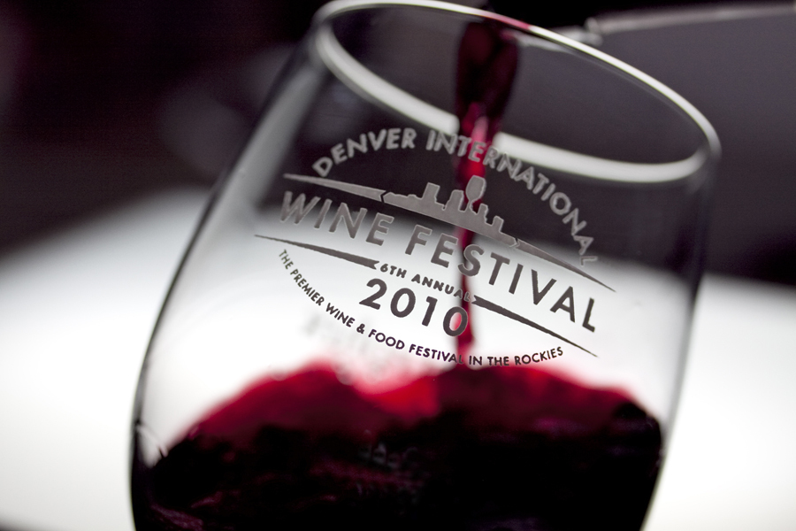 Denver International Wine Festival VIP Glass with Red Wine :  : Christopher Davies Photography
