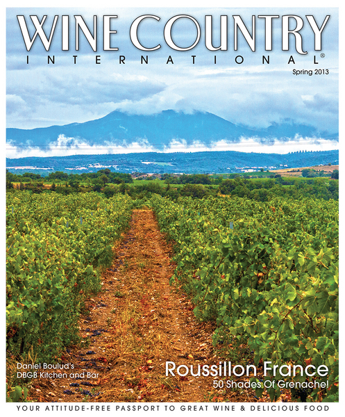 Wine Country International Magazine- Spring 2013 :  : Christopher Davies Photography