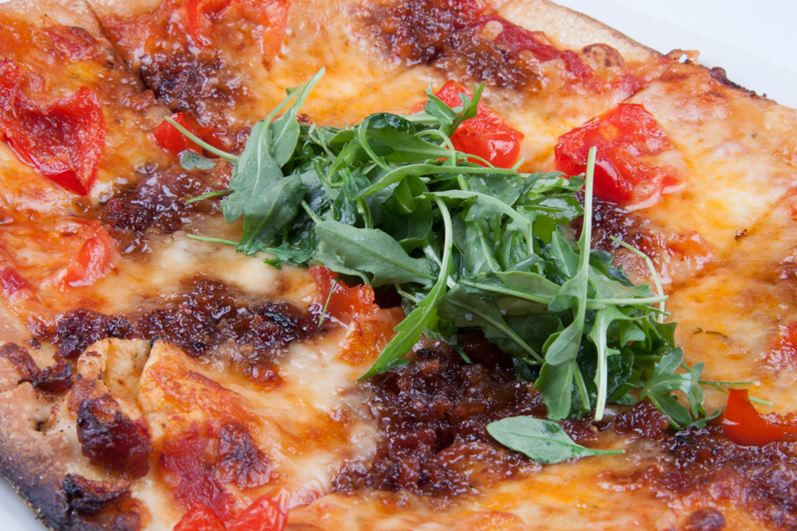 WoWood Oven Flatbread at Range, Denver, CO :  : Christopher Davies Photography