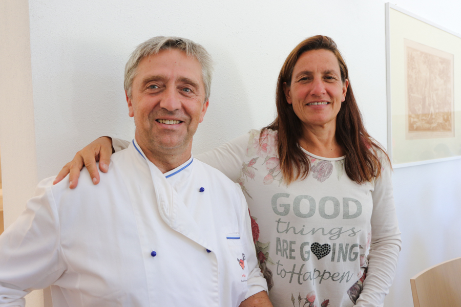 Chef with Caterina Dei :  : Christopher Davies Photography
