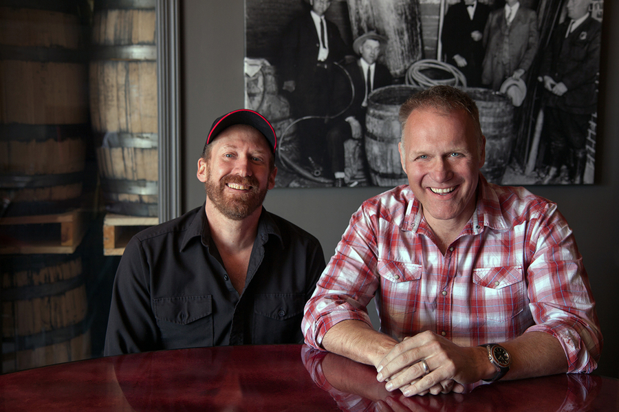 Vapor Distillery owners Ted Palmer and Alastair Brogan :  : Christopher Davies Photography