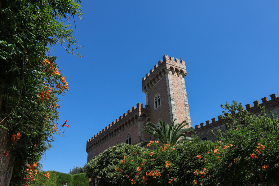 Castle in Bolgheri :  : Christopher Davies Photography