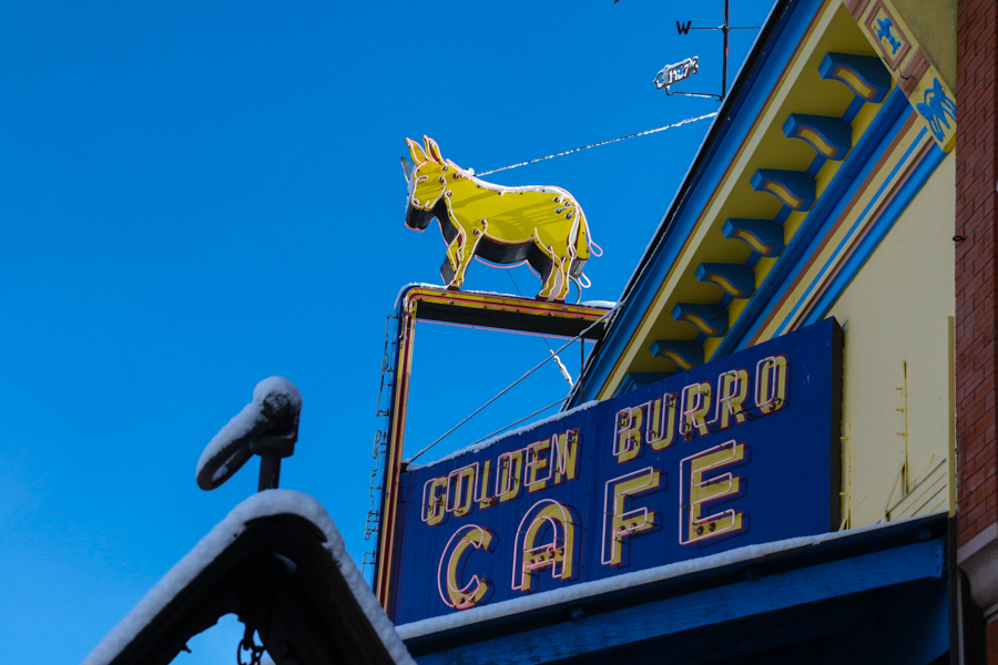 Cafe in Leadville, CO :  : Christopher Davies Photography