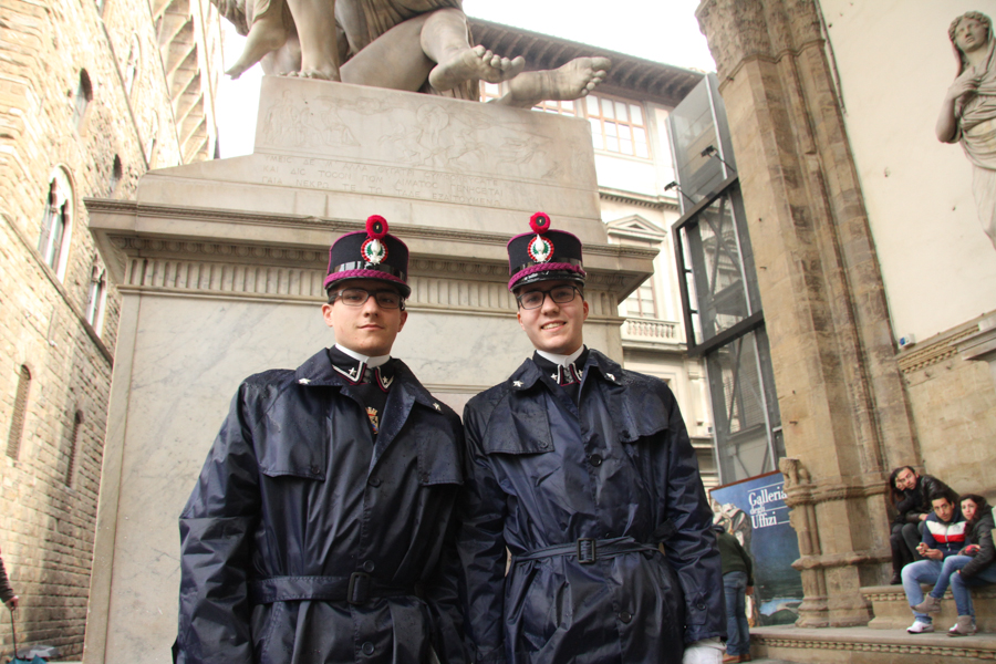 Police in Florence, Italy :  : Christopher Davies Photography